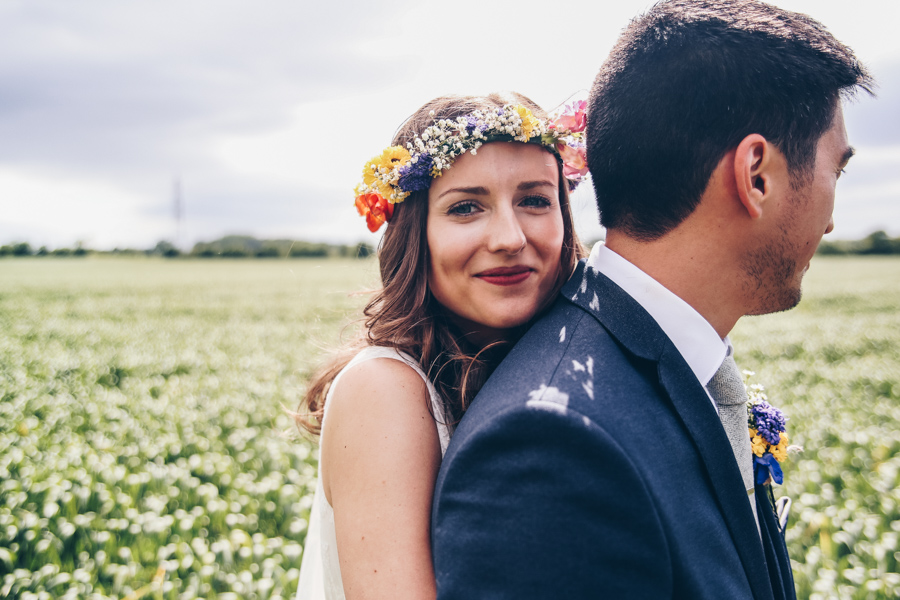 Relaxed hippie boho vibe wedding at Shustoke Farm Barns with Winnington & Coe Photography (36)