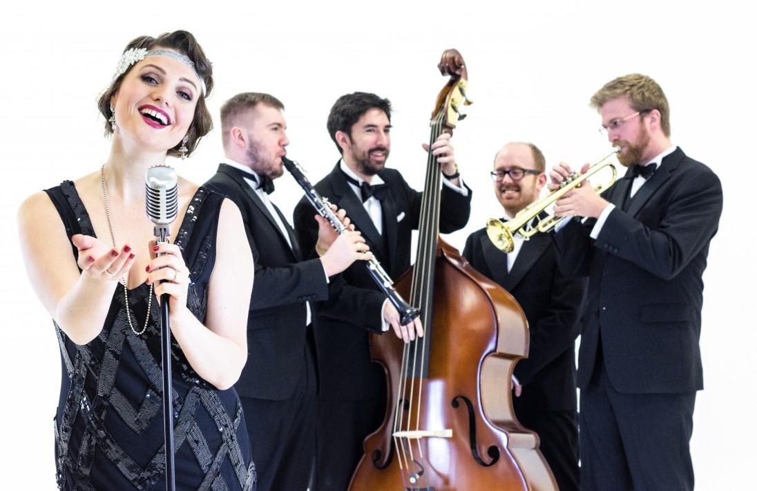 Bellini Jazz vintage wedding band with Entertainment Nation