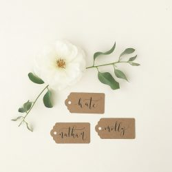Calligraphy workshops – brush lettering, Christmas and wedding specials!