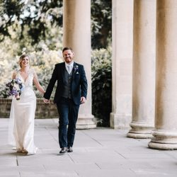 Katie and Martyn's relaxed, flower-filled Pitville Pump Rooms wedding, with Oobaloos Photography