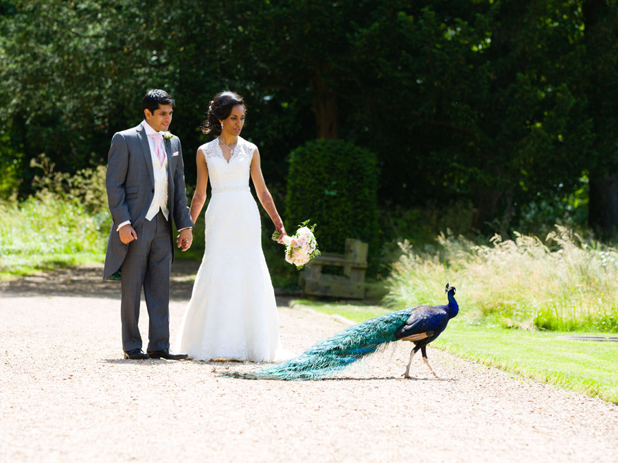 Glorious colour and beautiful gowns for a real wedding at Ragley Hall, images by Clive Blair Photography on the English Wedding Blog (27)
