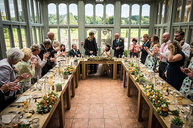 Mad Hatter's tea party September wedding in Hampshire - image credit Linus Moran Photography (37)