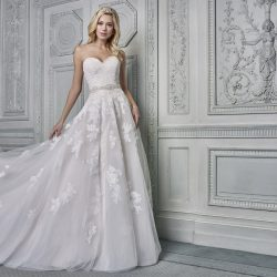 Make a statement with a dramatic / classic dress from the Ellis Bridals 2019 Belgravia Collection