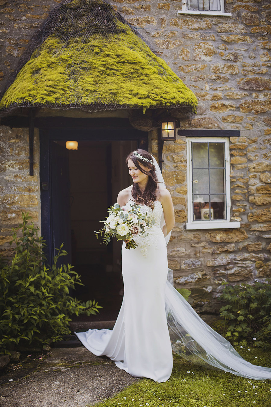 Relaxed outdoor wedding at Cott Farm Barn with images by Heather Birnie Photography on the English Wedding Blog (7)