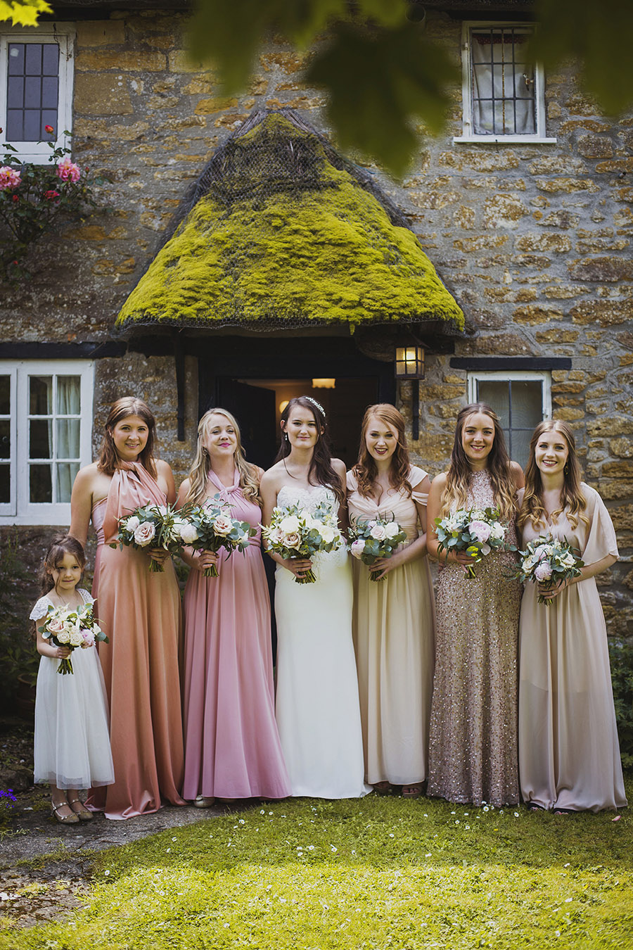 Relaxed outdoor wedding at Cott Farm Barn with images by Heather Birnie Photography on the English Wedding Blog (8)