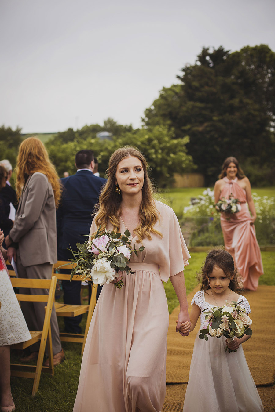 Relaxed outdoor wedding at Cott Farm Barn with images by Heather Birnie Photography on the English Wedding Blog (12)