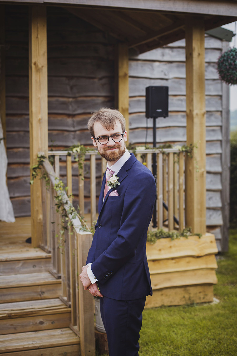 Relaxed outdoor wedding at Cott Farm Barn with images by Heather Birnie Photography on the English Wedding Blog (15)