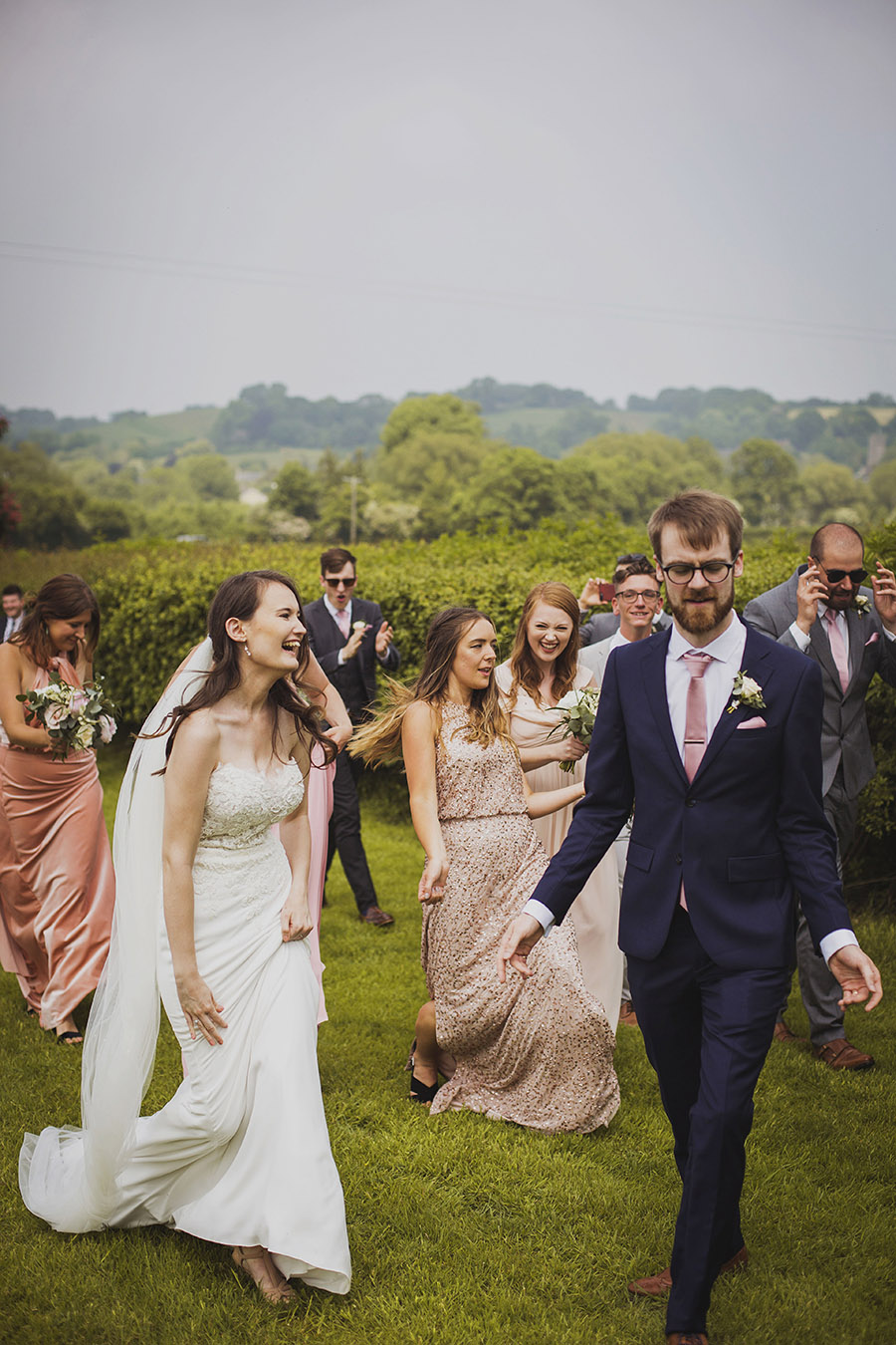Relaxed outdoor wedding at Cott Farm Barn with images by Heather Birnie Photography on the English Wedding Blog (25)