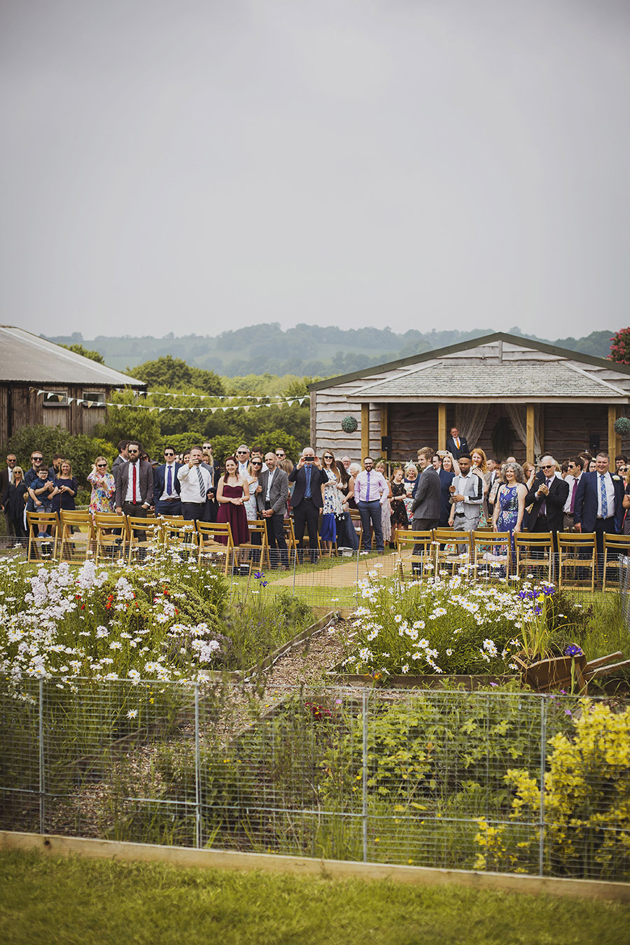 Relaxed outdoor wedding at Cott Farm Barn with images by Heather Birnie Photography on the English Wedding Blog (27)
