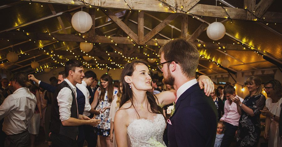 Relaxed outdoor wedding at Cott Farm Barn with images by Heather Birnie Photography on the English Wedding Blog (44)