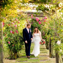 Katie & Paul's beautiful summer wedding with vibrant florals, photos by Nicola Norton Photography