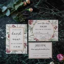 How to add warmth and beauty to create a dreamy winter wedding palette
