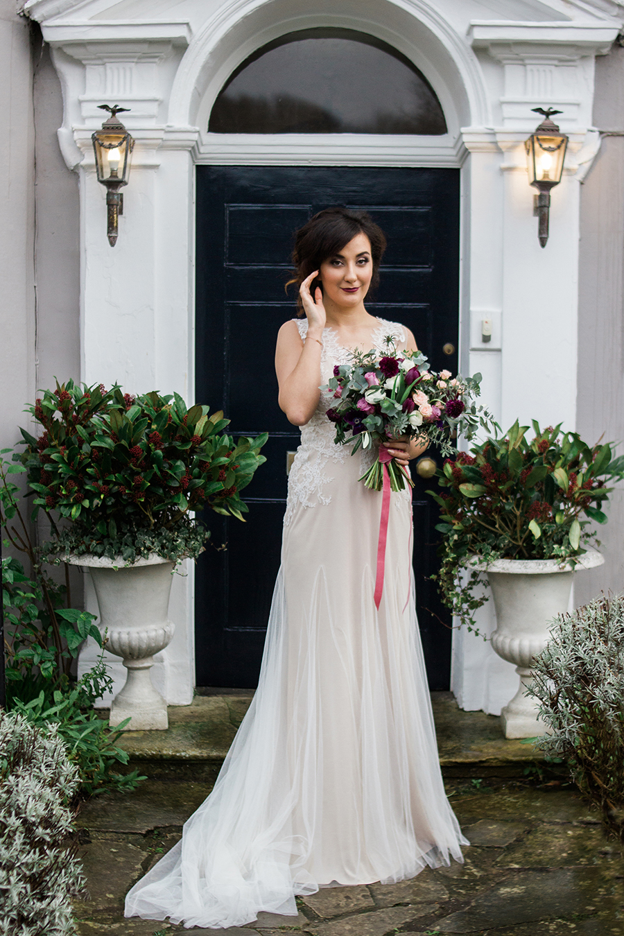warm, winter wedding styling with heirloom touches on the English Wedding Blog - image by Katie Rogers Photography (19)