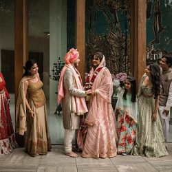 Gaayatri and David's colourful fairytale Hindu-Punjabi fusion wedding , with Linus Moran Photography