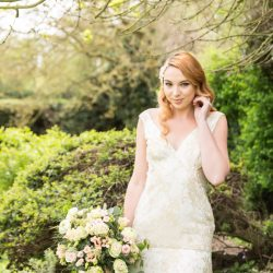 Floral and feminine – the sweetest inspiration for a Downton styled English wedding