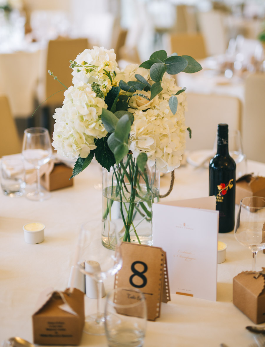 White and green styling for an elegant wedding at West Tower, with Rachel Joyce Photography on the English Wedding Blog (23)
