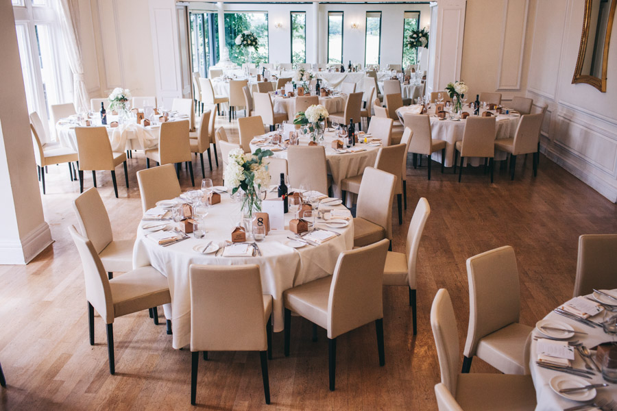 White and green styling for an elegant wedding at West Tower, with Rachel Joyce Photography on the English Wedding Blog (26)