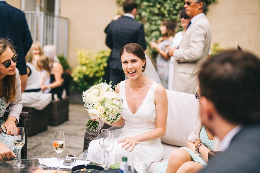 White and green styling for an elegant wedding at West Tower, with Rachel Joyce Photography on the English Wedding Blog (30)