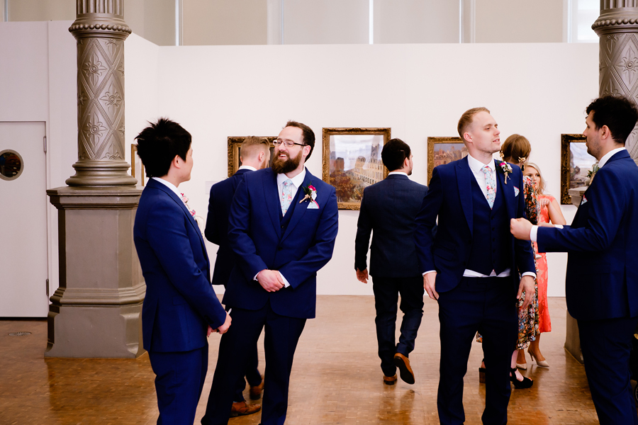 Fusion wedding in Birmingham, Museum art gallery wedding with images by Clive Blair Photography on English-Wedding.com (8)