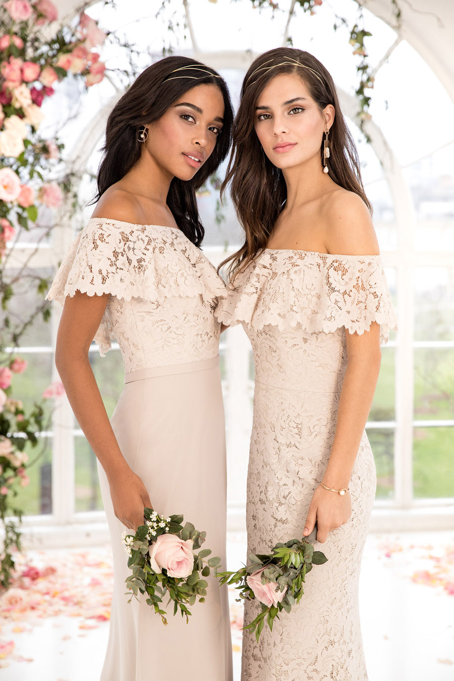 The English Wedding Blog showcases Kelsey Rose bridesmaids dresses for 2019 in dusty pink, pastel yellow and blue and more (31)
