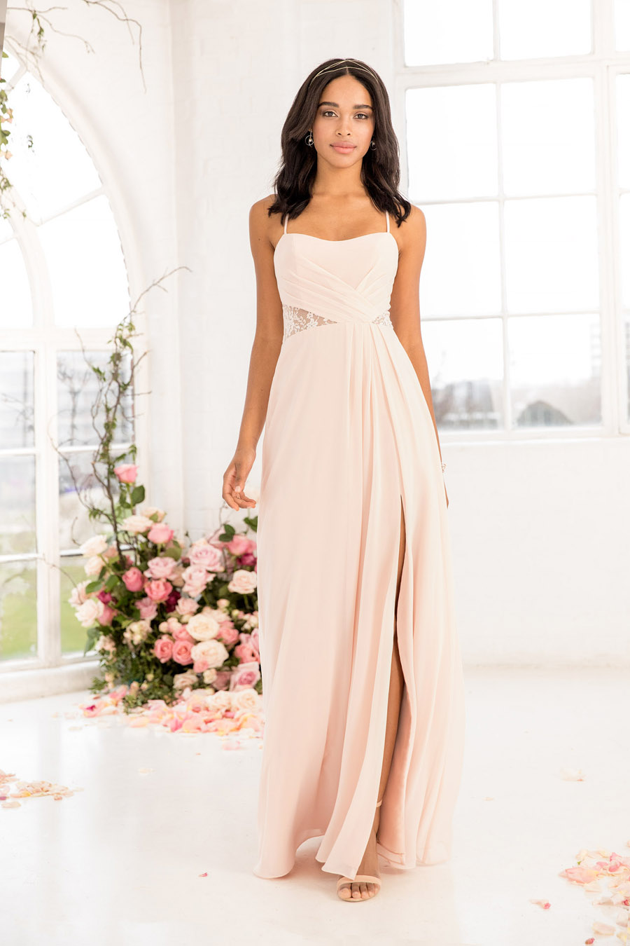 The English Wedding Blog showcases Kelsey Rose bridesmaids dresses for 2019 in dusty pink, pastel yellow and blue and more (28)