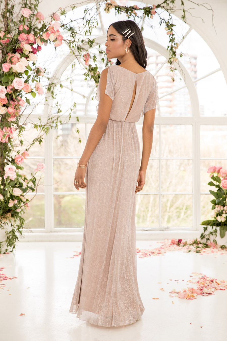 The English Wedding Blog showcases Kelsey Rose bridesmaids dresses for 2019 in dusty pink, pastel yellow and blue and more (24)