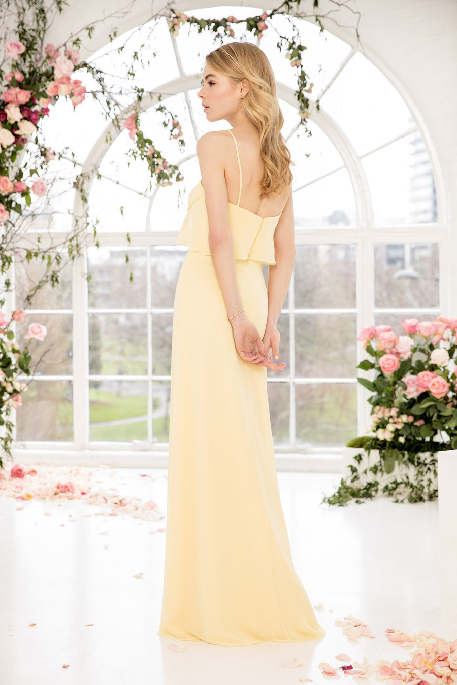 The English Wedding Blog showcases Kelsey Rose bridesmaids dresses for 2019 in dusty pink, pastel yellow and blue and more (22)