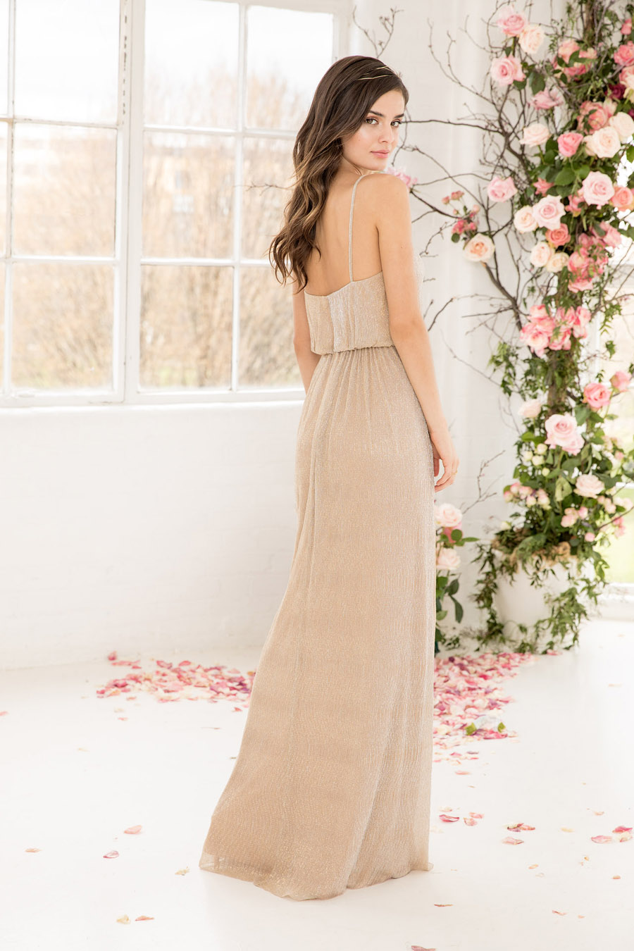 The English Wedding Blog showcases Kelsey Rose bridesmaids dresses for 2019 in dusty pink, pastel yellow and blue and more (21)