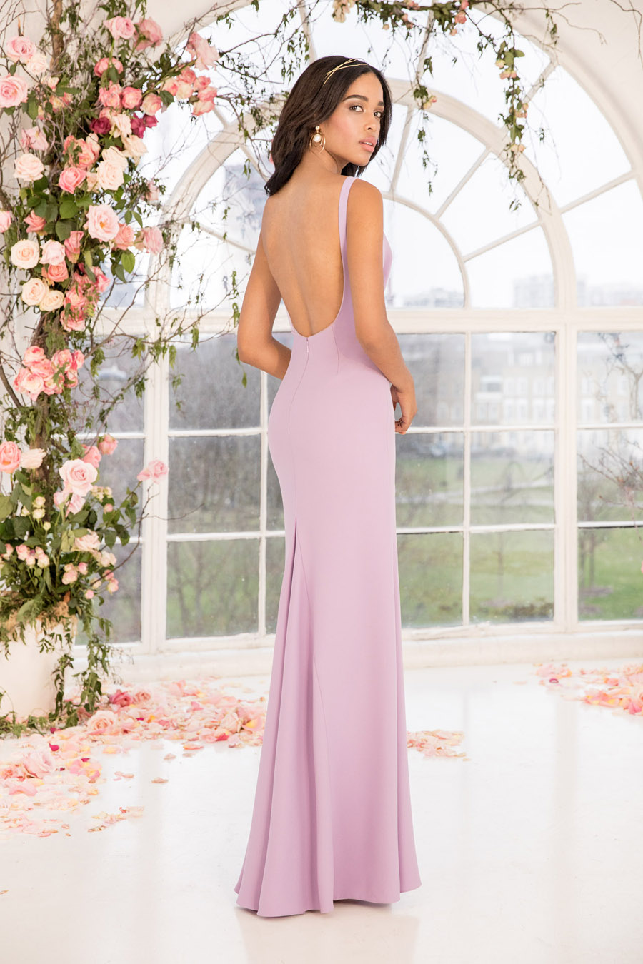 The English Wedding Blog showcases Kelsey Rose bridesmaids dresses for 2019 in dusty pink, pastel yellow and blue and more (19)
