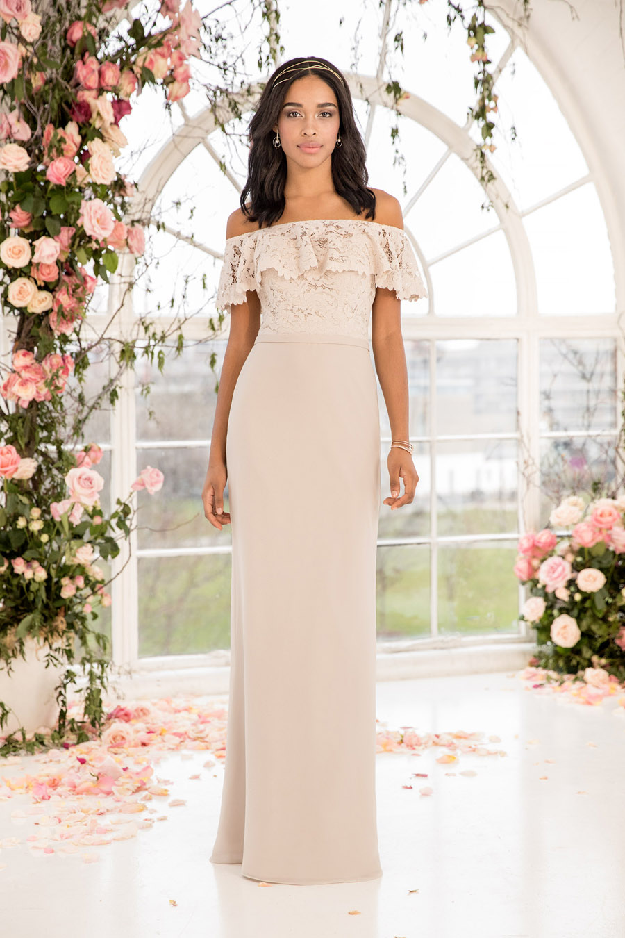 The English Wedding Blog showcases Kelsey Rose bridesmaids dresses for 2019 in dusty pink, pastel yellow and blue and more (17)