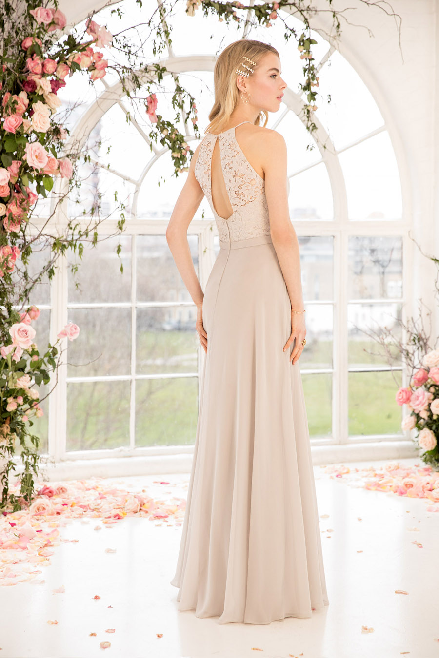 The English Wedding Blog showcases Kelsey Rose bridesmaids dresses for 2019 in dusty pink, pastel yellow and blue and more (15)