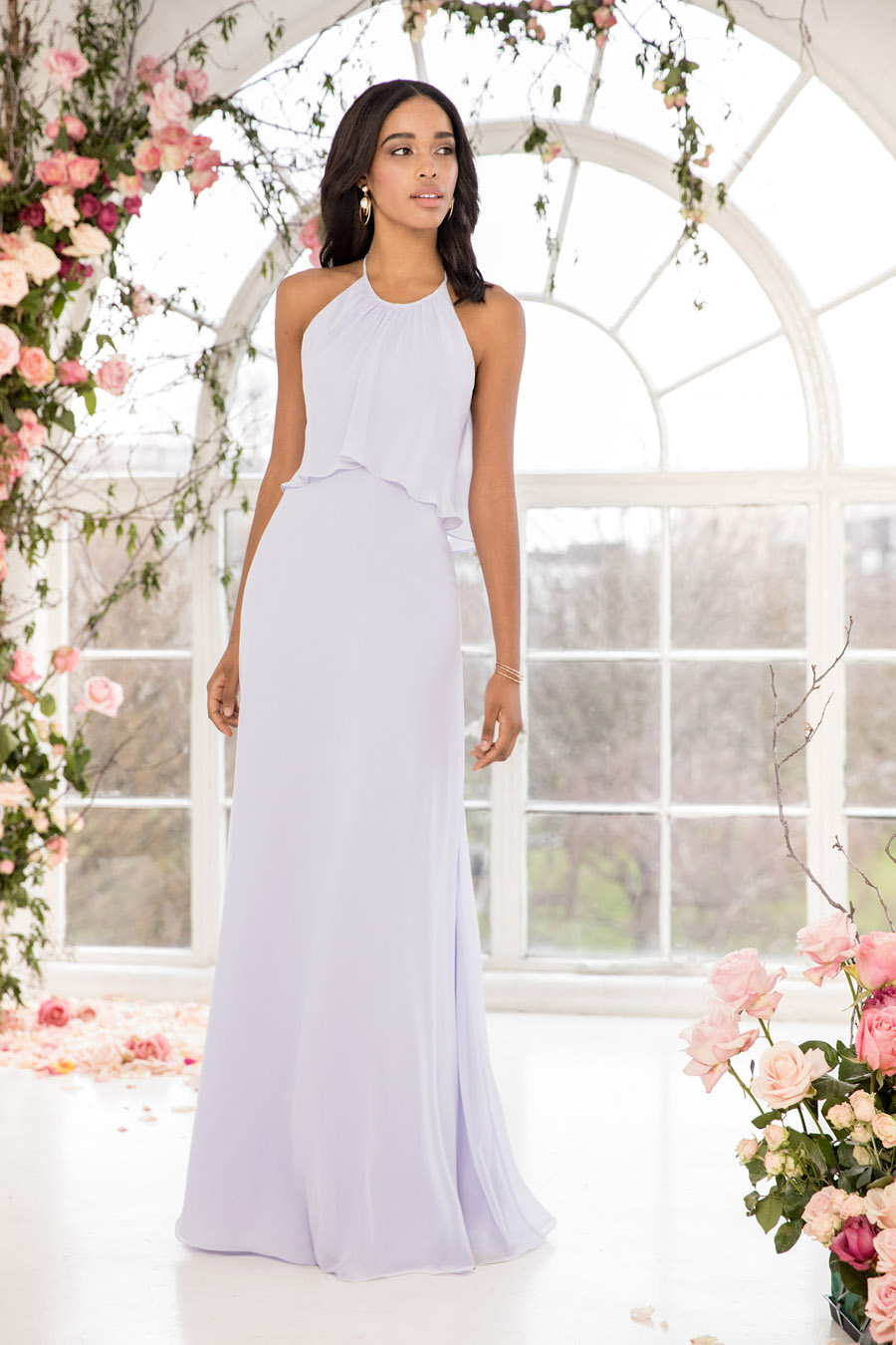 The English Wedding Blog showcases Kelsey Rose bridesmaids dresses for 2019 in dusty pink, pastel yellow and blue and more (12)