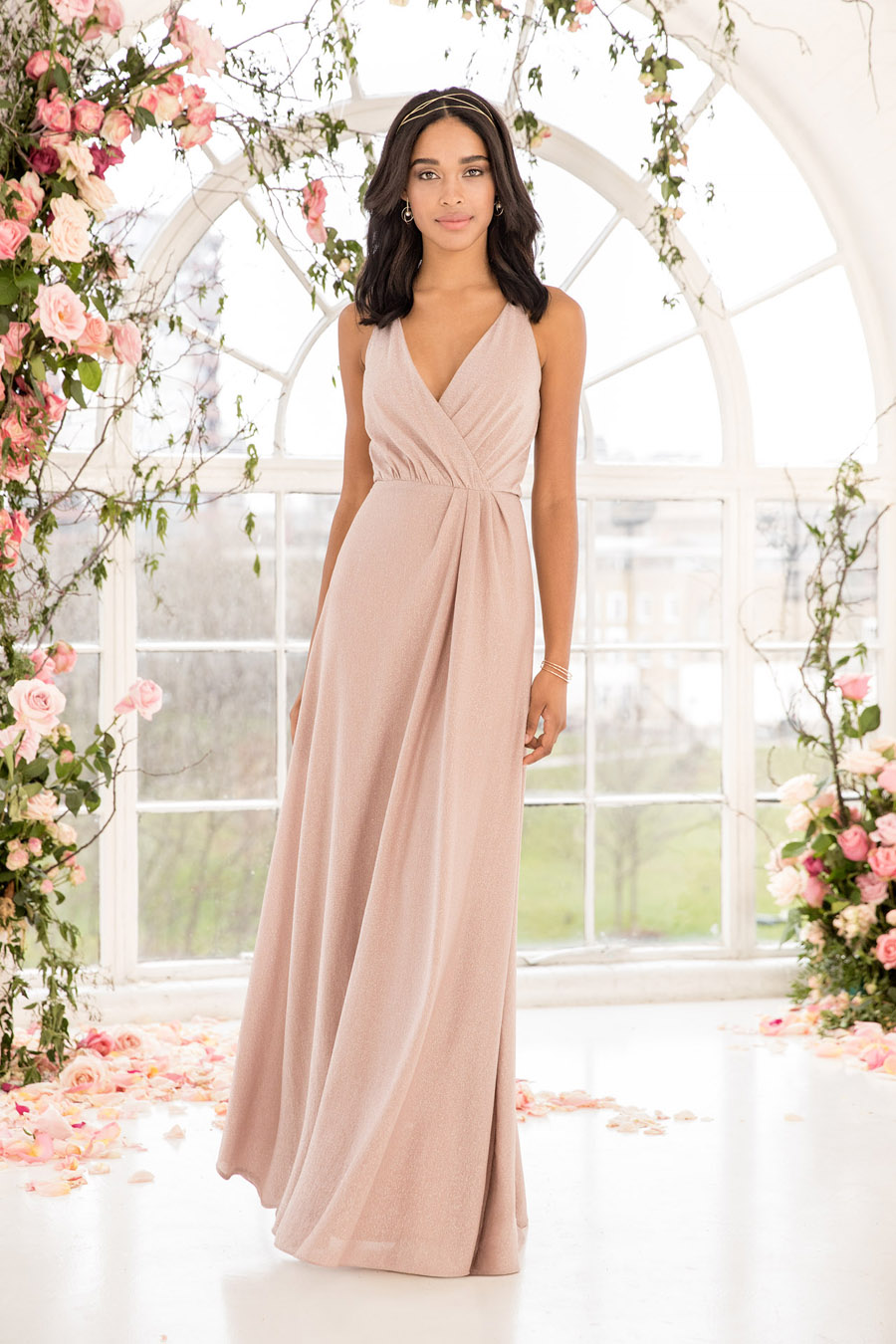 The English Wedding Blog showcases Kelsey Rose bridesmaids dresses for 2019 in dusty pink, pastel yellow and blue and more (4)