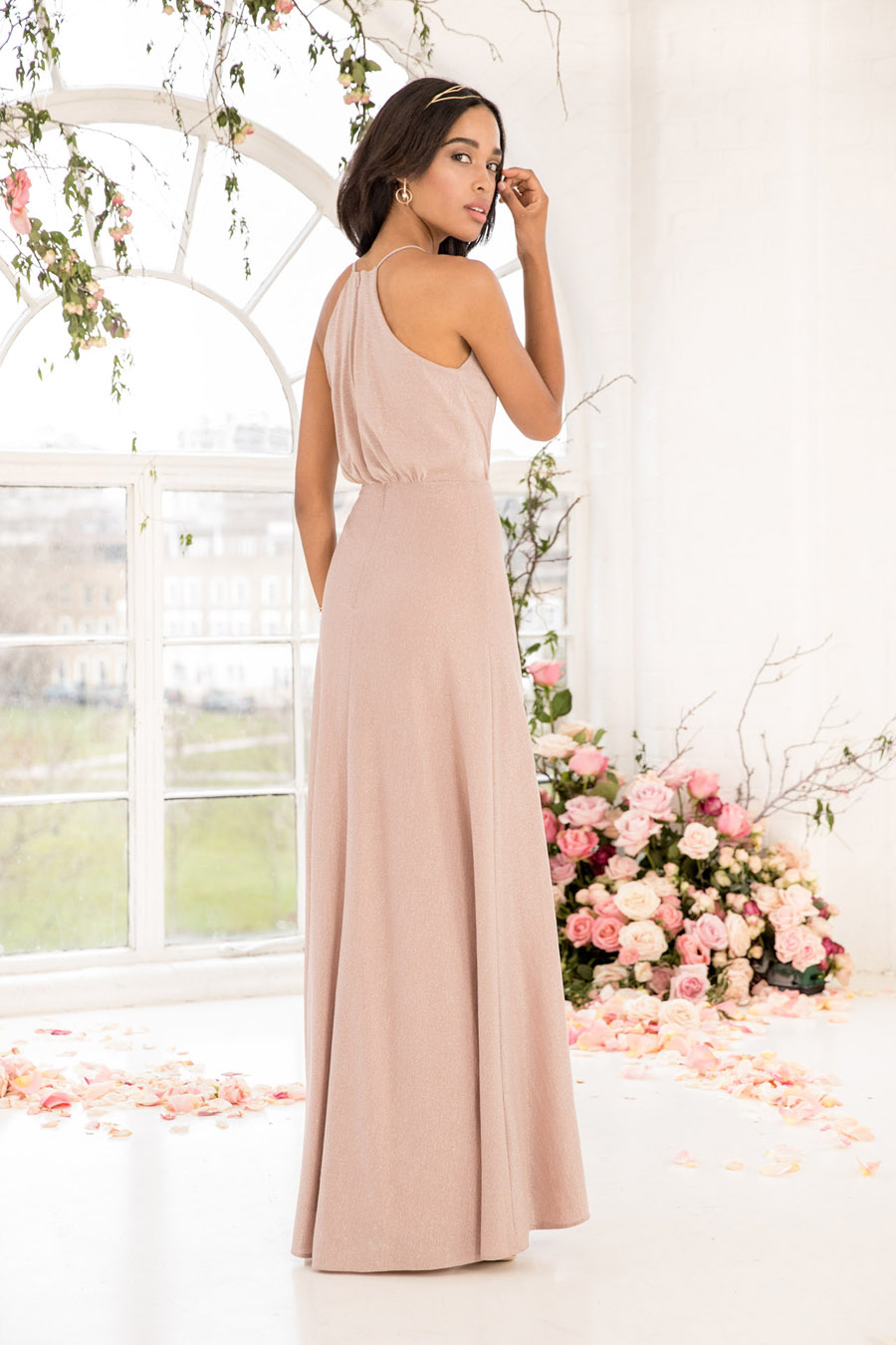 The English Wedding Blog showcases Kelsey Rose bridesmaids dresses for 2019 in dusty pink, pastel yellow and blue and more (3)