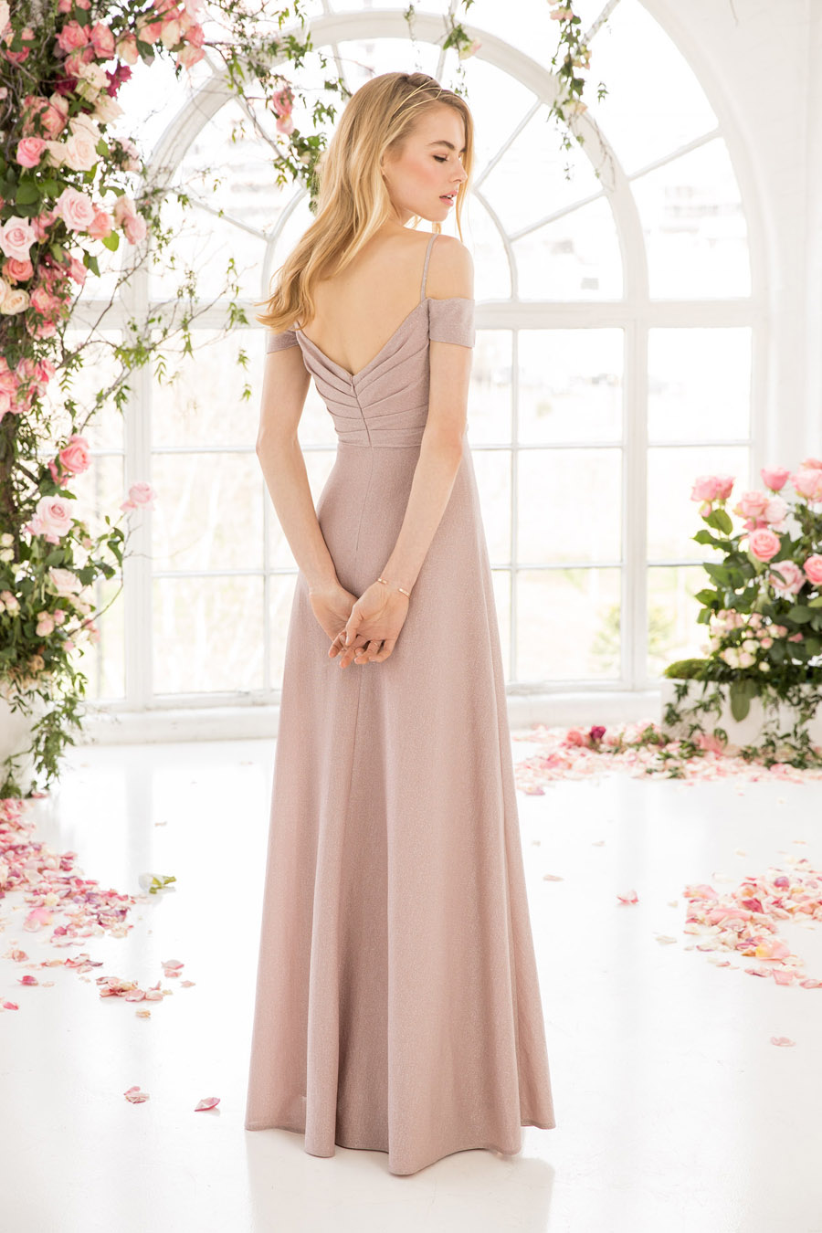 The English Wedding Blog showcases Kelsey Rose bridesmaids dresses for 2019 in dusty pink, pastel yellow and blue and more (1)