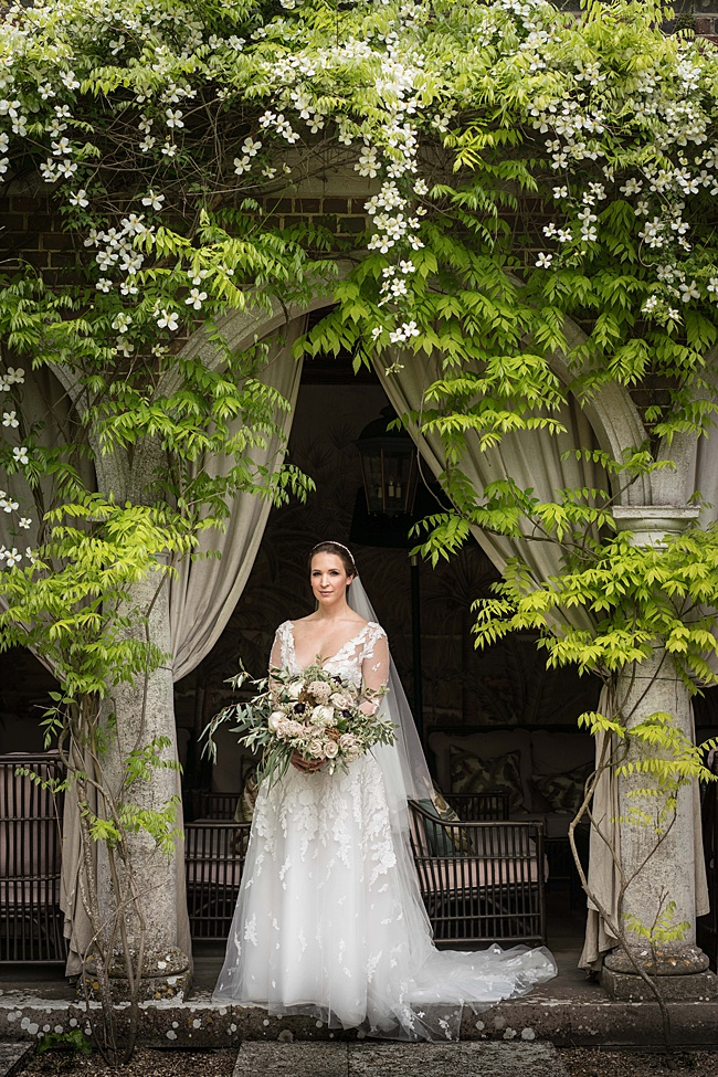 Elegant colonial wedding styling ideas from Linus Moran Photography, Sass & Grace and West Dorset Wedding Flowers (21)