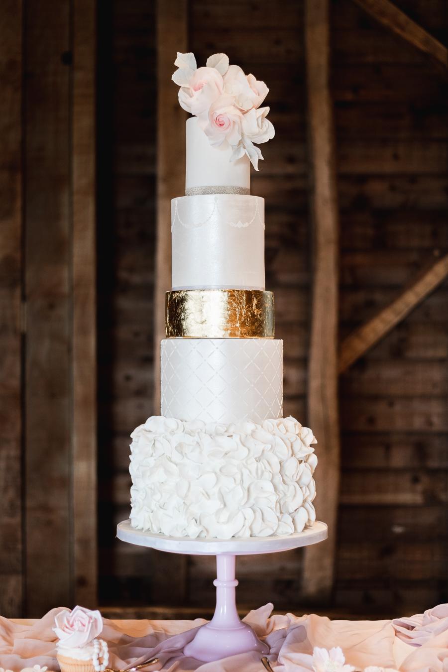 Opulent blush and gold wedding ideas on English-Wedding.com image credit Bond Photography (31)