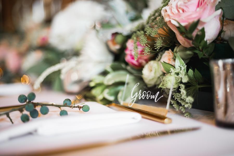 Opulent blush and gold wedding ideas on English-Wedding.com image credit Bond Photography (35)