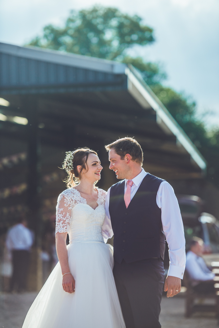 Farm wedding with a chicken and egg theme, by Catherine Spiller Photography (37)