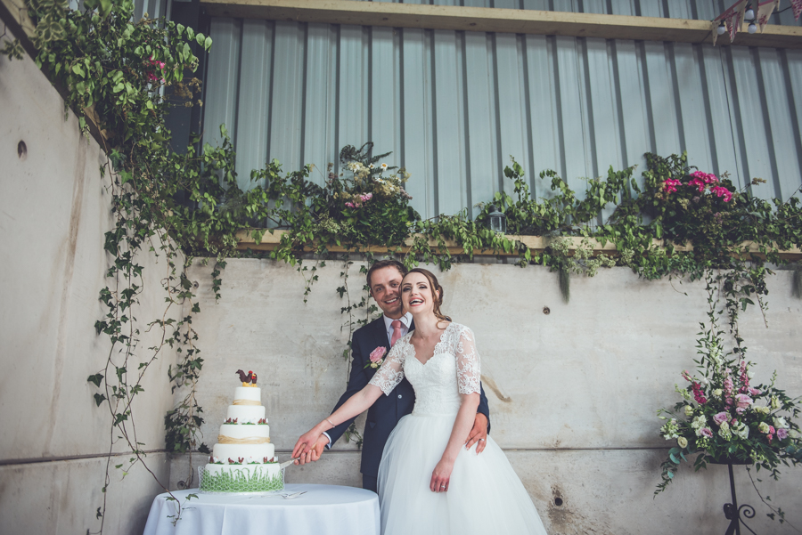Farm wedding with a chicken and egg theme, by Catherine Spiller Photography (38)
