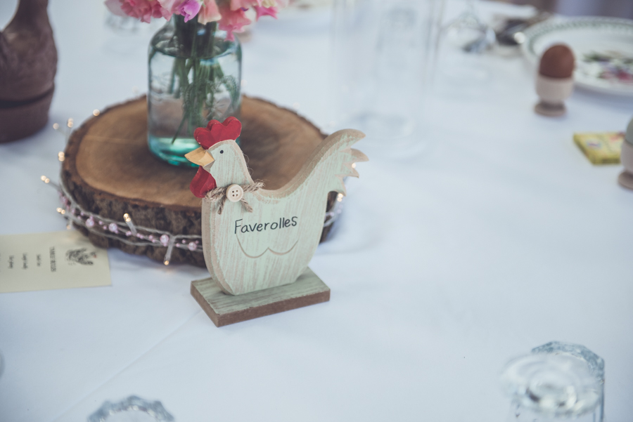 Farm wedding with a chicken and egg theme, by Catherine Spiller Photography (18)