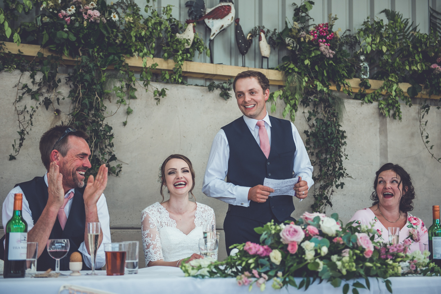 Farm wedding with a chicken and egg theme, by Catherine Spiller Photography (34)