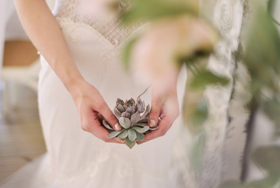 Marina Walker Photography's styled shoot with succulents and affordable details for a minimalist boho wedding (15)