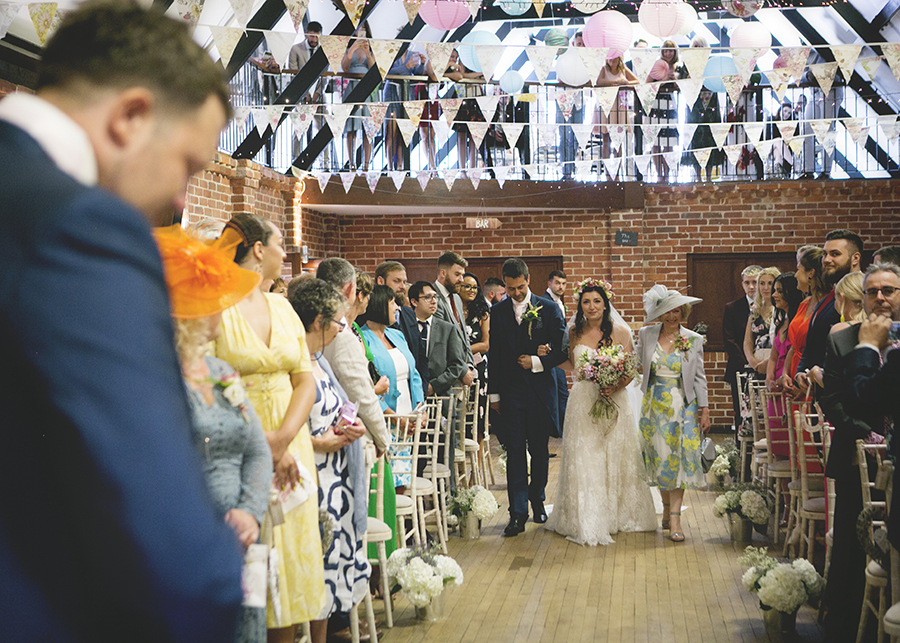 The brightest vintage bus! Colour and playful wedding styling, with Katrina Matthews Photography (11)
