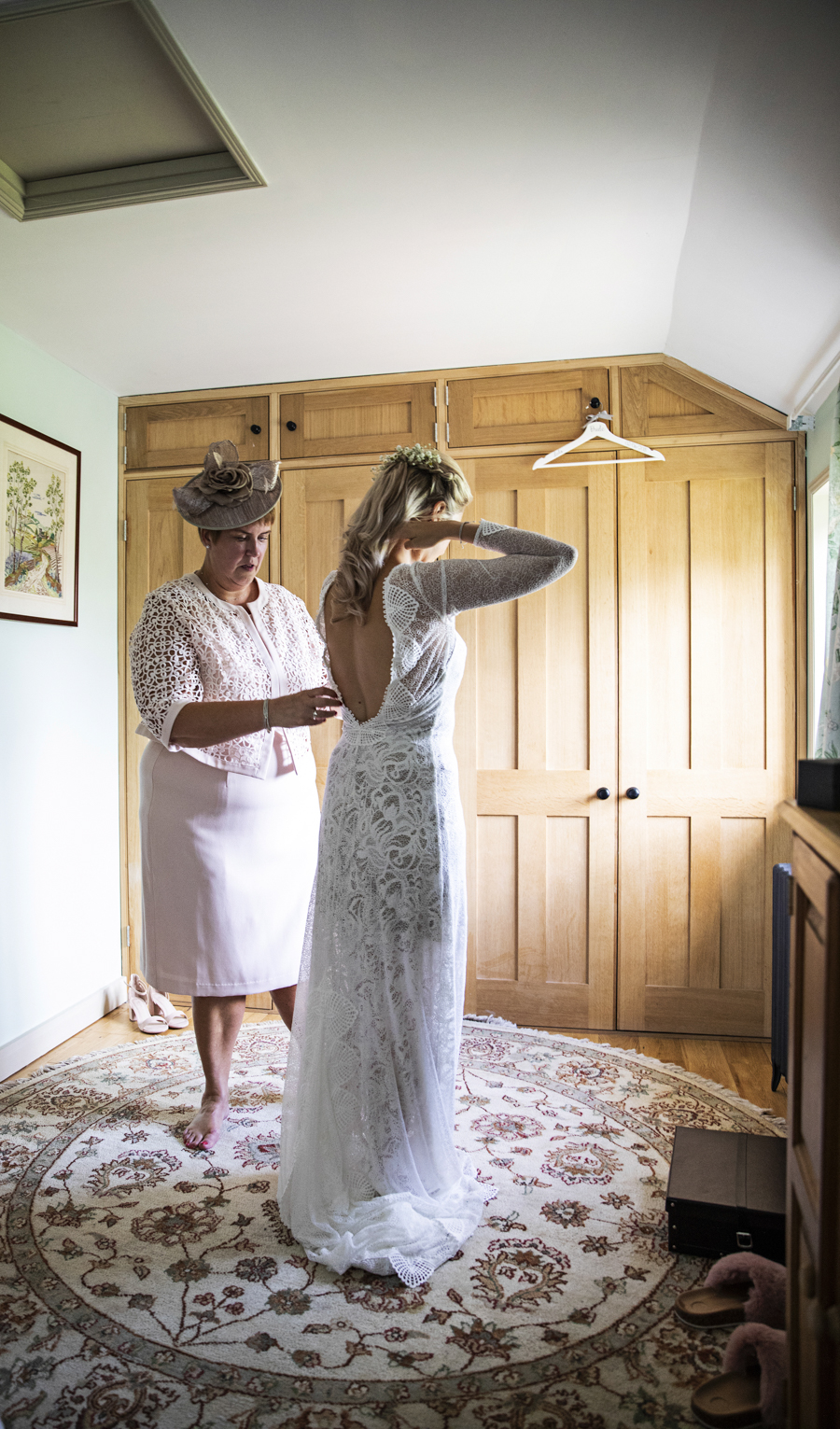 Beautiful real boho wedding from Shortmead House, with Lorna Newman Photography (9)