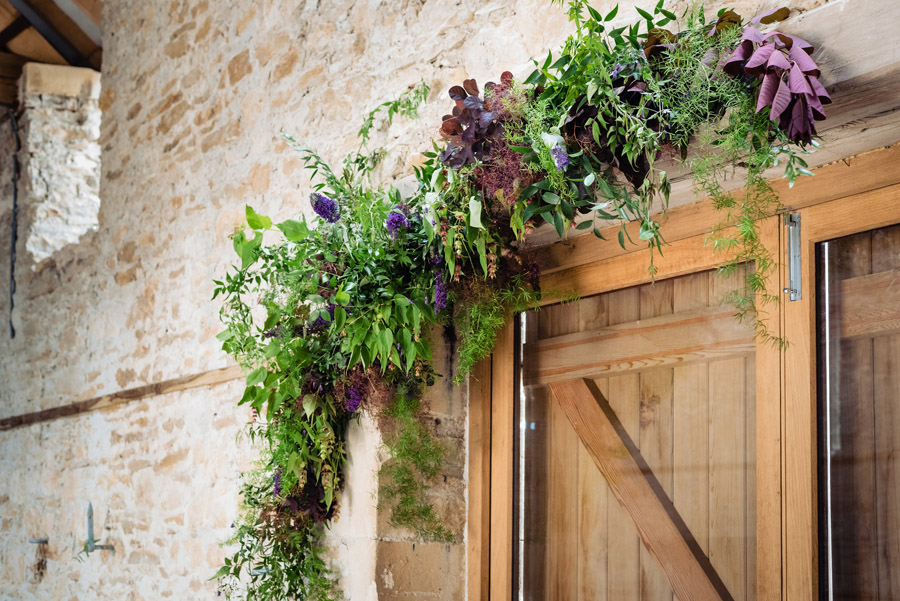 The Old Barn, Kelston - behind the scenes wedding flower styling - photo by Martin Pemberton (12)