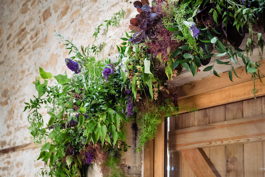 The Old Barn, Kelston - behind the scenes wedding flower styling - photo by Martin Pemberton (13)