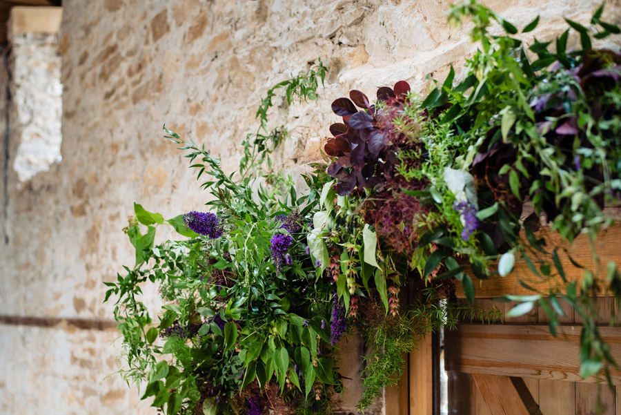 The Old Barn, Kelston - behind the scenes wedding flower styling - photo by Martin Pemberton (14)