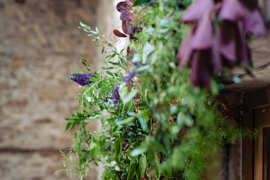 The Old Barn, Kelston - behind the scenes wedding flower styling - photo by Martin Pemberton (15)