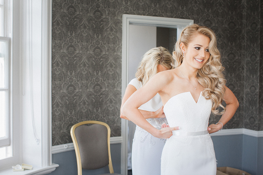 black tie UK wedding blog from Morden Hall with Vivienne Edge Photography (14)